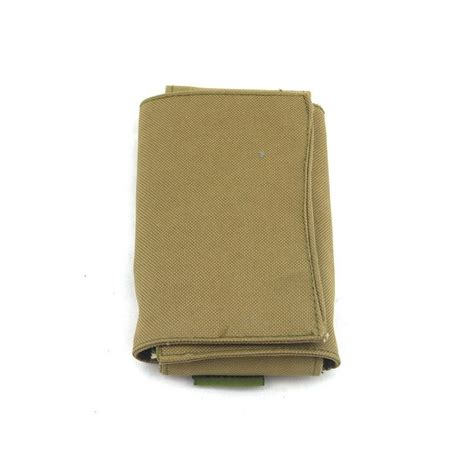 molle tool pouch molle foldable tool pouch khaki iron site airsoft shop