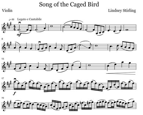 The Song Of The Bird free flute notes song of the caged bird