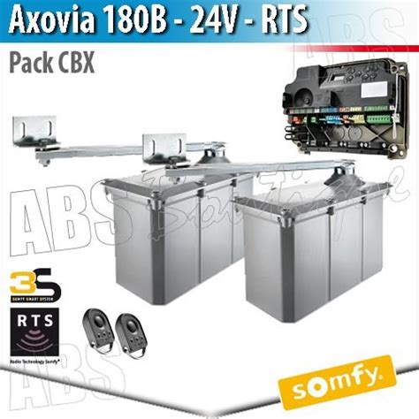 Motorisation Portail Battant Somfy 5135 by Axovia 180 B Somfy Pack Moteurs 233 Lectronique Cbx 3s Rts