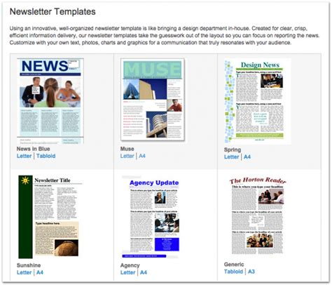xerox templates 12 best real estate newsletter template resources placester