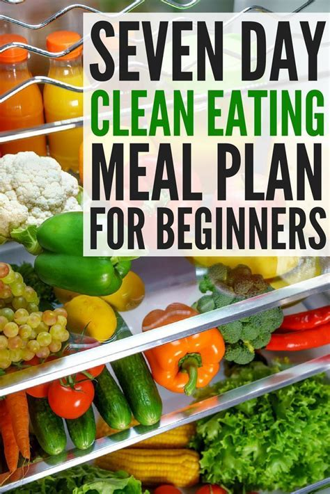 Easy Detox Meals by Meal Planning For Clean 7 Day Detox Challenge