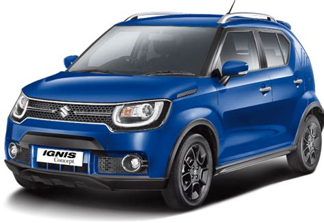 Outer Model Suzuki Ignis maruti suzuki ignis to be offered with amt in both petrol