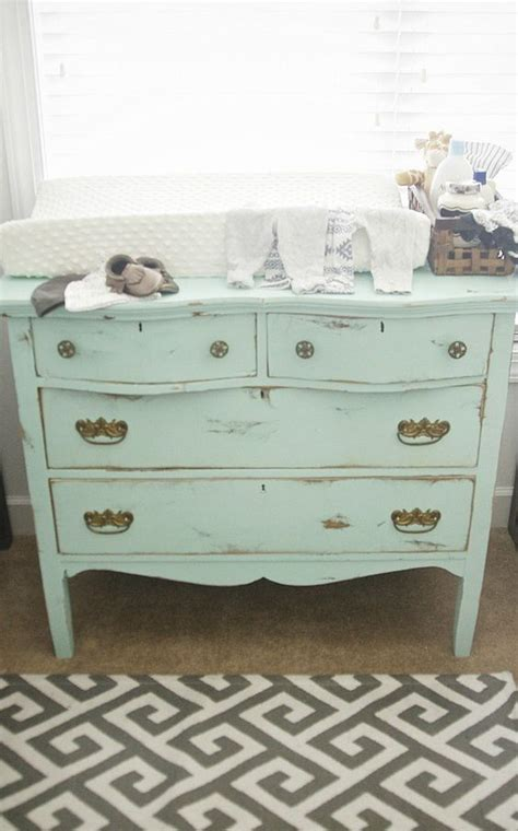 6 Shabby Chic Nursery D 233 Cor Tips And 24 Ideas Shelterness Shabby Chic Changing Table