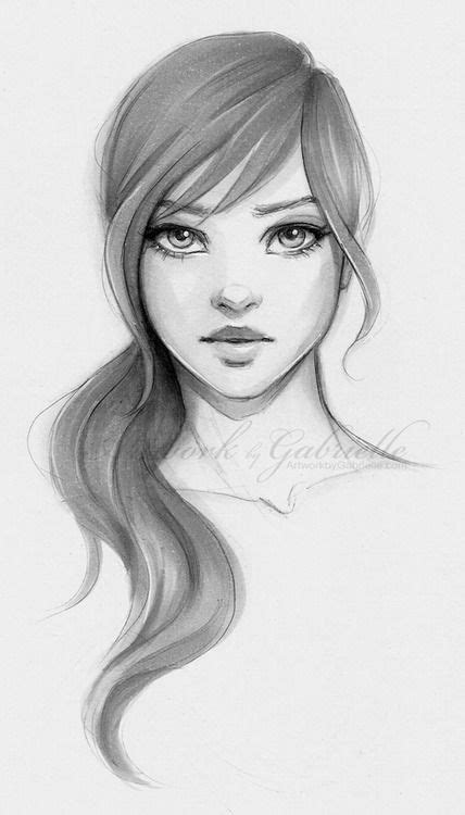 girl face drawing best 25 girl face drawing ideas on pinterest