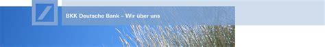 bkk deutsche bank düsseldorf adresse struktur mitarbeiter