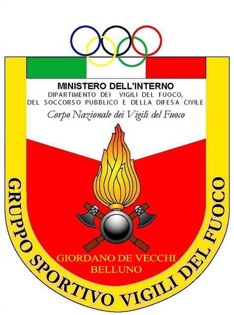 ministero interno vigili fuoco gruppo sportivo