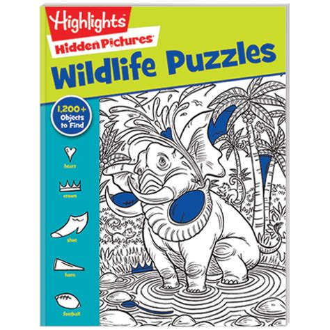 Highlights Pictures Puzzles Book 2 pictures 174 favorites 2 book set wildlife and