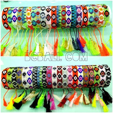 Tassel Motif tassels bracelets miyuki motif small