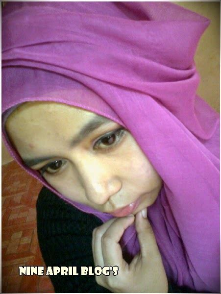 Bedak Wardah Ijo fotd purple pink nine april