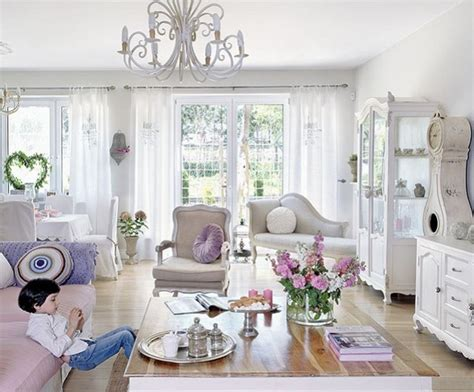 how to decorate shabby chic style to your living room