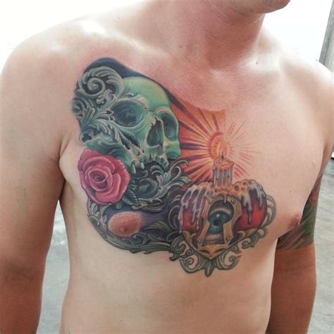 new school tattoo houston figurehead tattoo tattoos new school skull and heart