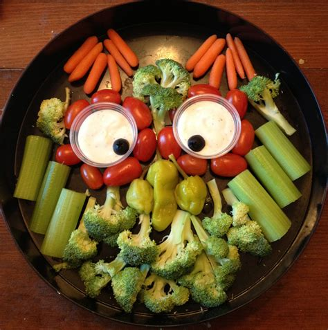 free ideas veggie tray characters