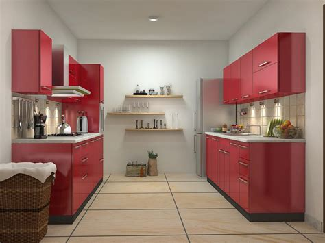 Parallel Kitchen Design Modular Kitchen Designs