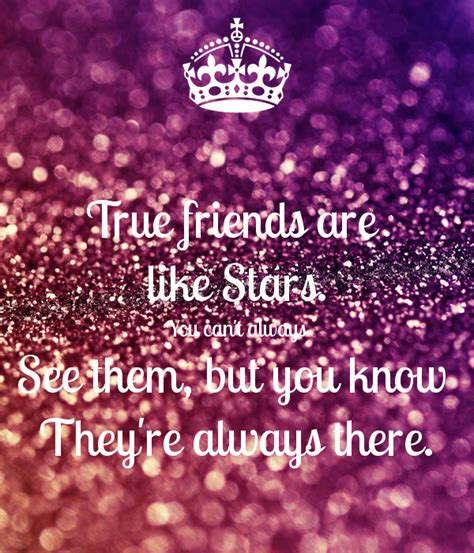 Can You See Them true friends are like you can t always see them