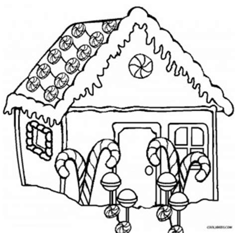 Gingerbread House Printable