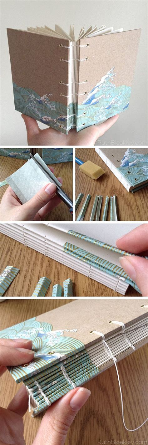 Handmade Journals Diy - best 25 handmade books ideas on book binding