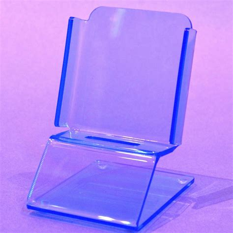 acrylic stand smartphone stand in choice of colours puffin plastics