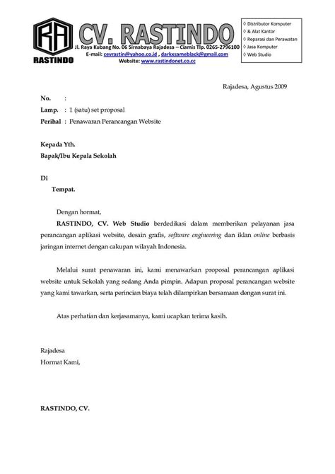 Contoh Surat Ppermintaan Penawaran Pada Perusahaan Jasa Pengiriman Barang by Contoh Surat Penawaran Kerjasama Contohsuratmu