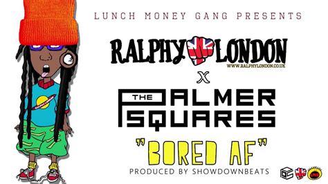 rug raps ralphy x the palmer squares bored af rugraps