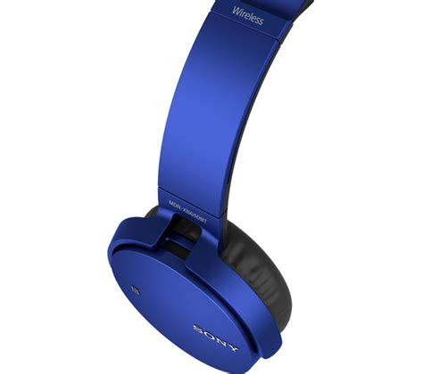 Headset Bluetooth Wireless Headphone Sony Mdr Zb750bt sony mdr xb650btl wireless bluetooth headphones blue deals pc world
