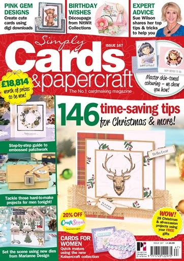Simply Cards And Papercraft Magazine - simply cards papercraft magazine issue 167
