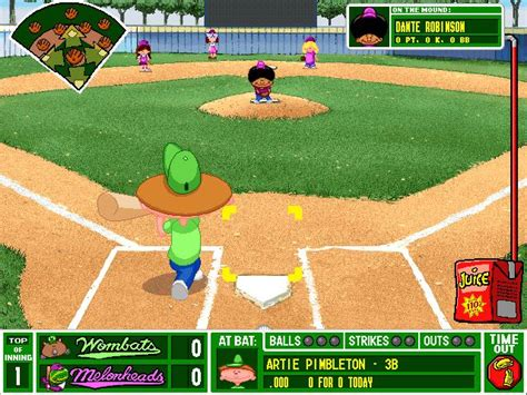 Backyard Sports Baseball by Backyard Baseball 2001 For Mac Specs Price