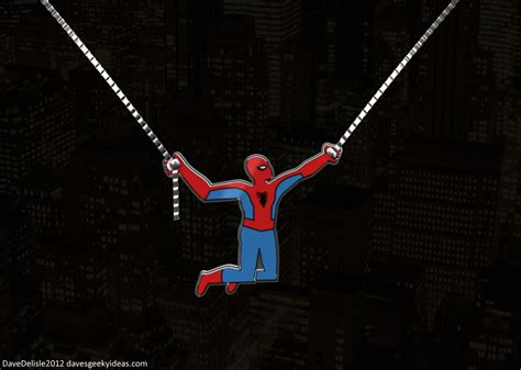 spiderman web swing game geek bling part 7 spider man dave s geeky ideas