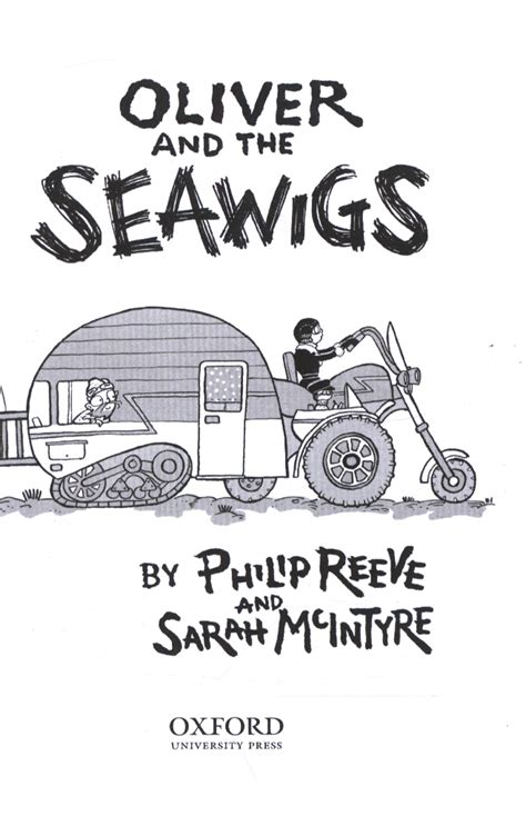 oliver and the seawigs 0192734881 oliver and the seawigs by reeve philip 9780192734884 brownsbfs