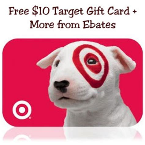 Ebates 10 Target Gift Card - free 10 gift card target barnes and noble more coupons and deals savingsmania