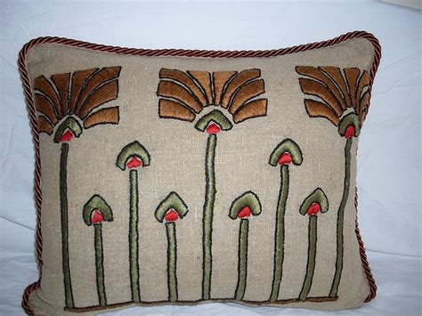 arts crafts pillow by artantiq via flickr arts and