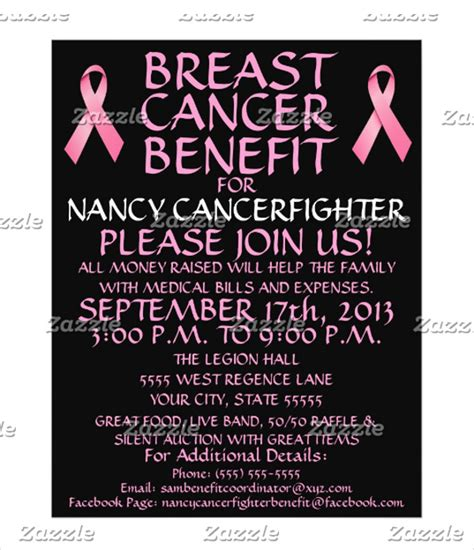14 Breast Cancer Flyer Design Templates Psd Ai Vector Eps Free Premium Templates Breast Cancer Fundraiser Flyer Templates Free
