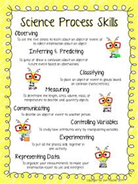 Science Process Skills Worksheets Printable by 1000 Ideas About Science Process Skills On