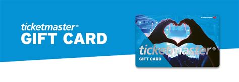 Ticket Master Gift Card - ticketmaster gift cards entertainment gift cards voucher express