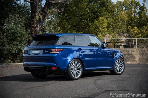 range rover svr 2016 2016 range rover sport svr review video performancedrive
