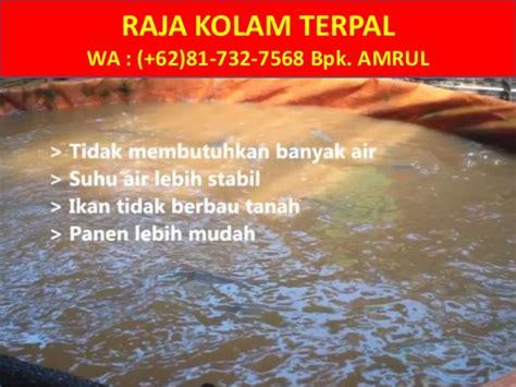 Jual Terpal Kolam Jogja wa 081 732 7568 jual kolam terpal bulat jogja