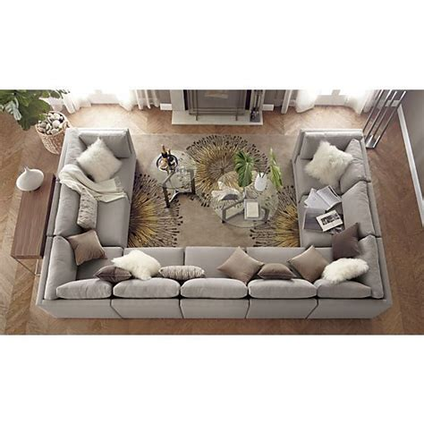 sectional big for living room this moda 9 sectional sofa in