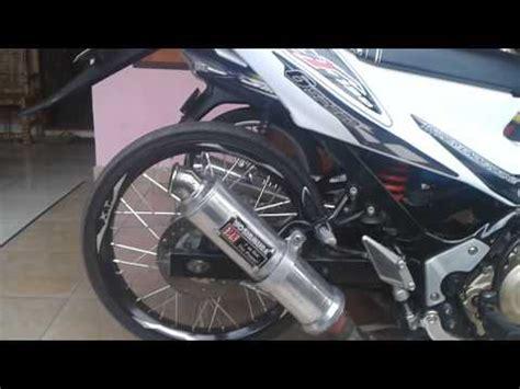 Knalpot Racing Akrapovic For Suzuki Satria F r9 mugello ng satria fu funnydog tv