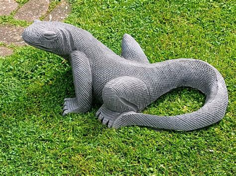 komodo dragonstone garden ornament  sheldon west