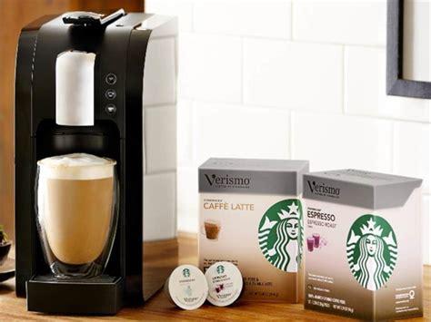verismo coffee machine starbucks at home stylus