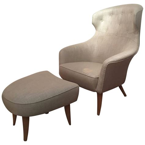 High Ottoman High Ottoman Hans J Wegner High Back Chair And Ottoman Model Ge290 At 1stdibs 10 High Style