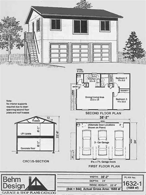 two story garage apartment plans 17 best images about garage plans on pinterest