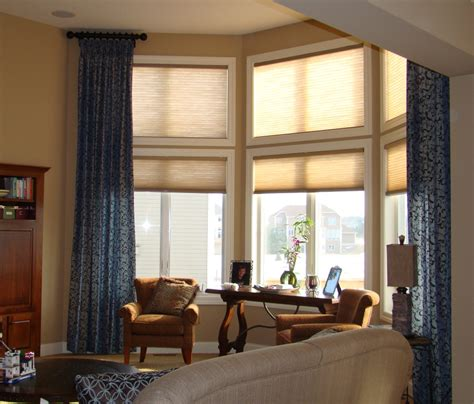 before and after window treatments for high windows a - High Window Coverings
