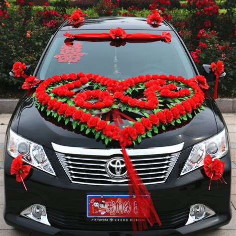 Wedding Car Decoration Kit by Wedding Supplies Large Simulation Floats