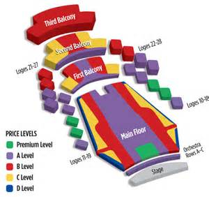 Ticketmaster Floor Plan stephens auditorium venuworks