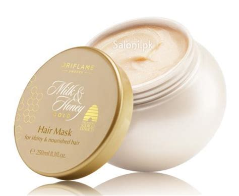 31708 Milk Honey Gold Shoo saloni product review oriflame milk honey gold hair mask saloni health supply