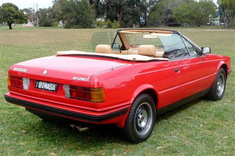 maserati red convertible sold maserati bi turbo spyder auctions lot 26 shannons