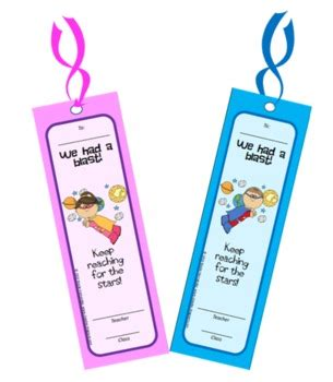 printable science bookmarks end of year free printable bookmarks by a teacher s idea