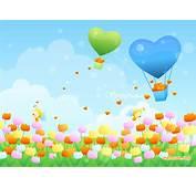Cartoon Spring Wallpaper  WallpaperSafari
