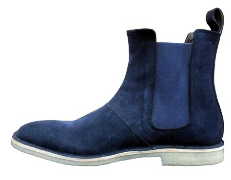 Handmade Chelsea Boots - handmade chelsea boots blue color and similar items