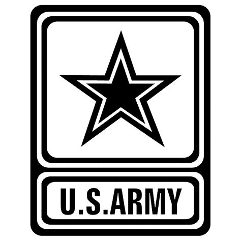 army logo coloring pages army logo vectored clipart best